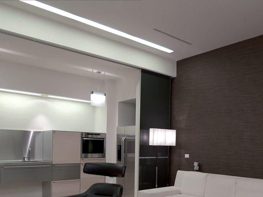 Linear lighting profile for LED modules VECTOR SYSTEM FRAME M by Metalmek