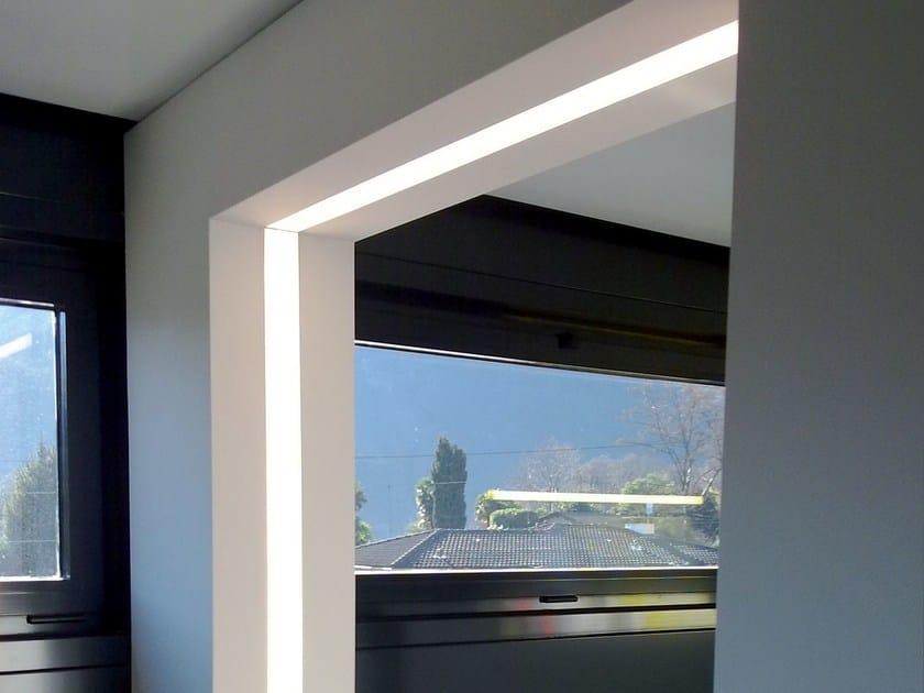 Linear lighting profile for LED modules VECTOR SYSTEM L LED by Metalmek