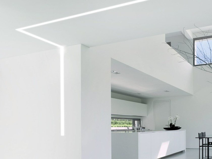 Linear lighting profile for LED modules VECTOR SYSTEM FRAME L by Metalmek