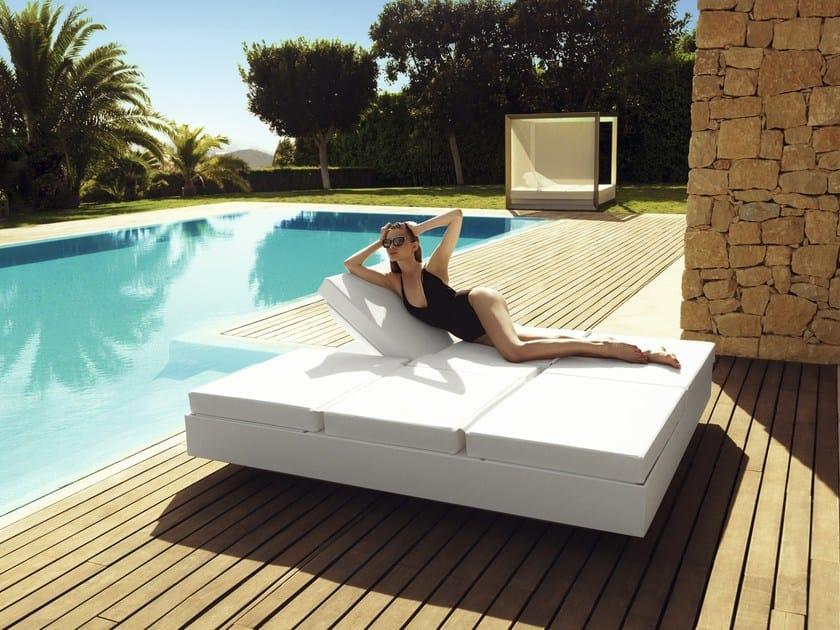 Double recliner garden bed VELA   Garden bed by VONDOM