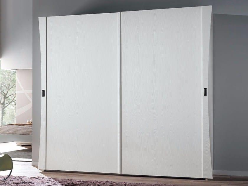 Ash wardrobe VELA | Wardrobe with sliding doors - Arvestyle