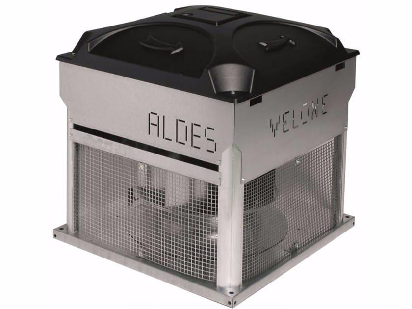 Torrino di evacuazione fumo VELONE F400 - ALDES