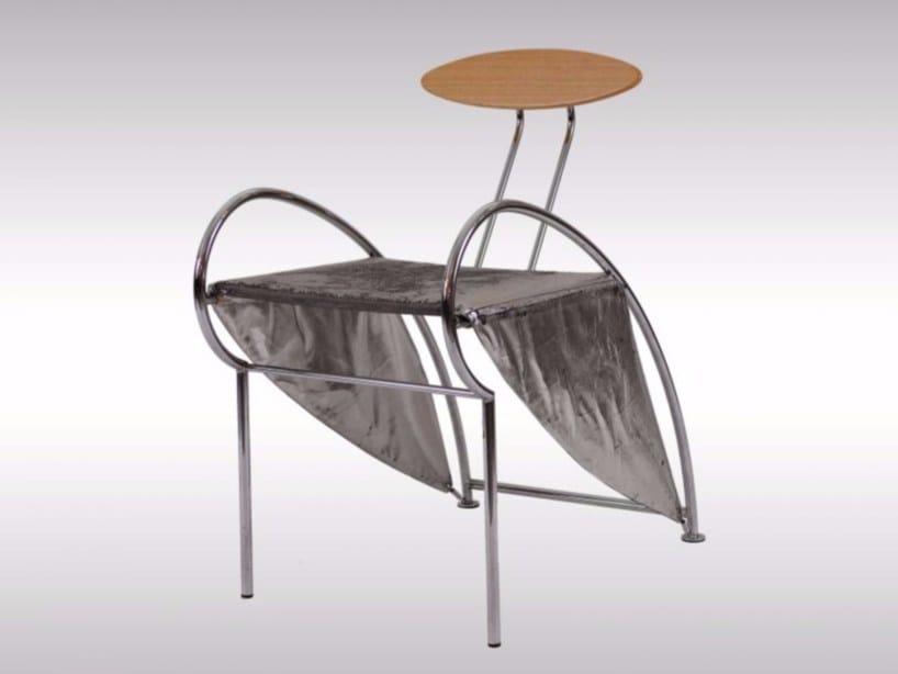 Leather chair VELOX #13 - Woka Lamps Vienna