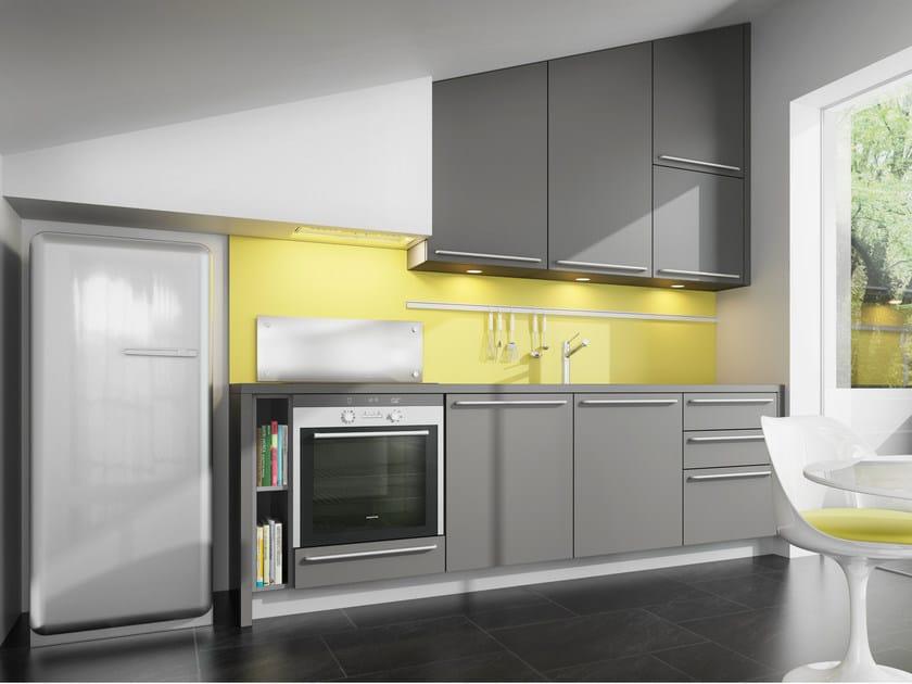 Linear kitchen VELVE   Kitchen by De Rosso