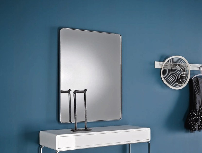 Rectangular hall mirror VELVET | Mirror - Altinox Minimal Design