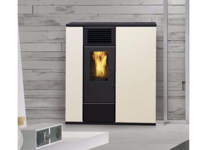 Pellet wall-mounted stove VENERE SLIM by Fintek