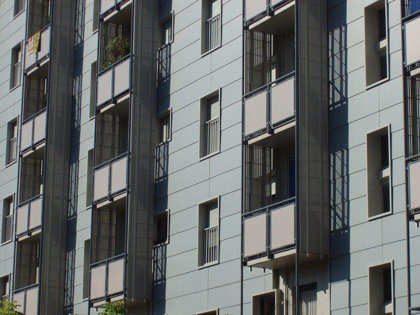 Ventilated facade VENERE SORMONTATO by DALLERA TECNOLOGIE