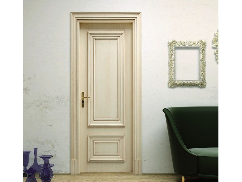 Hinged wooden door VENEZIA 2 - Pail Serramenti