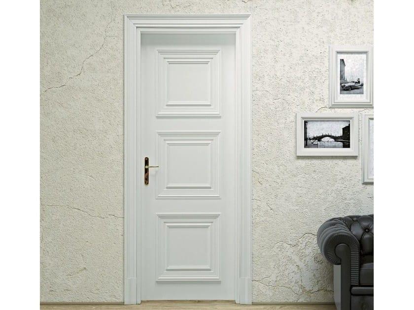 Hinged wooden door VENEZIA 3 - Pail Serramenti