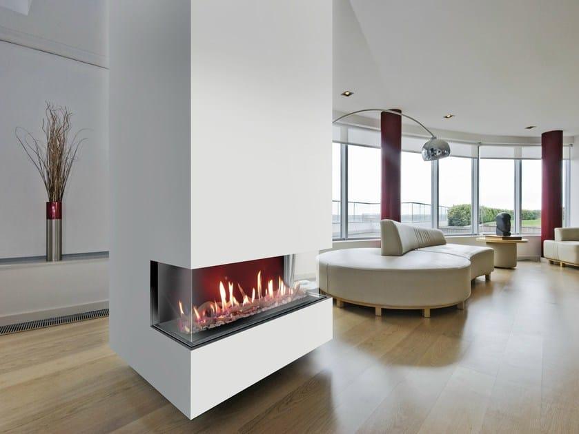 Triple-sided Fireplace insert VENEZIA | Fireplace insert - ITALKERO