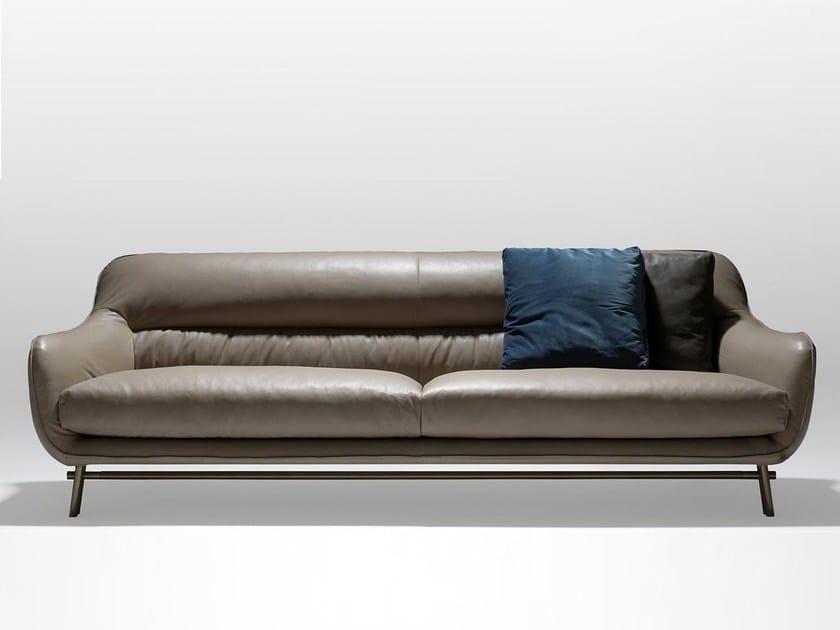 Leather sofa VENICE   Sofa - Esedra by Prospettive
