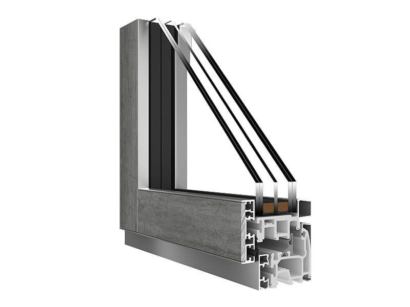 Fibex thermal break window VENICE STONE - Agostinigroup