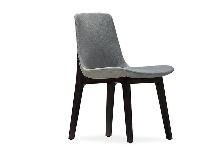 Upholstered fabric chair VENTURA | Chair - Poliform