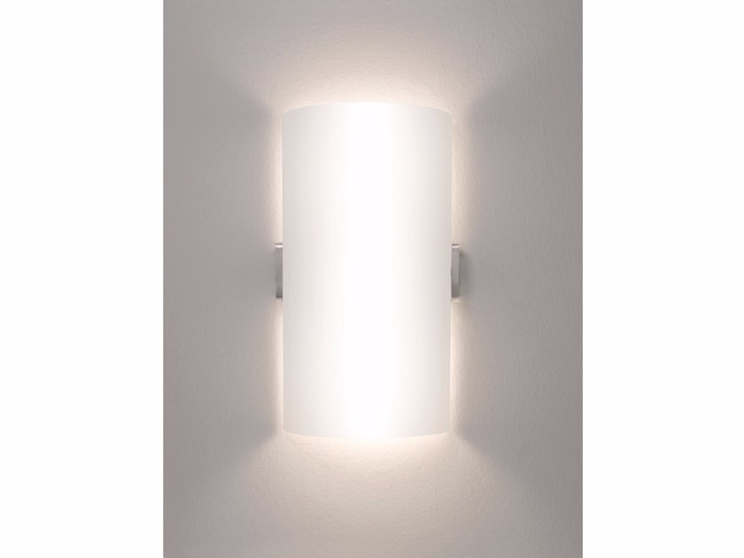 Direct-indirect light Murano glass wall light VENUS | Direct-indirect light wall light by IDL EXPORT