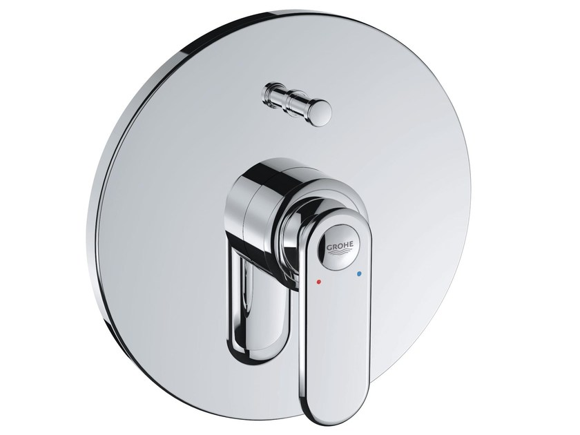 Wall-mounted bathtub mixer with diverter VERIS   Bathtub mixer by Grohe