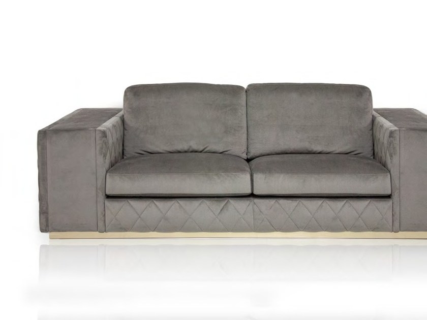 Upholstered 2 seater velvet sofa VERONA | 2 seater sofa by Formitalia Group