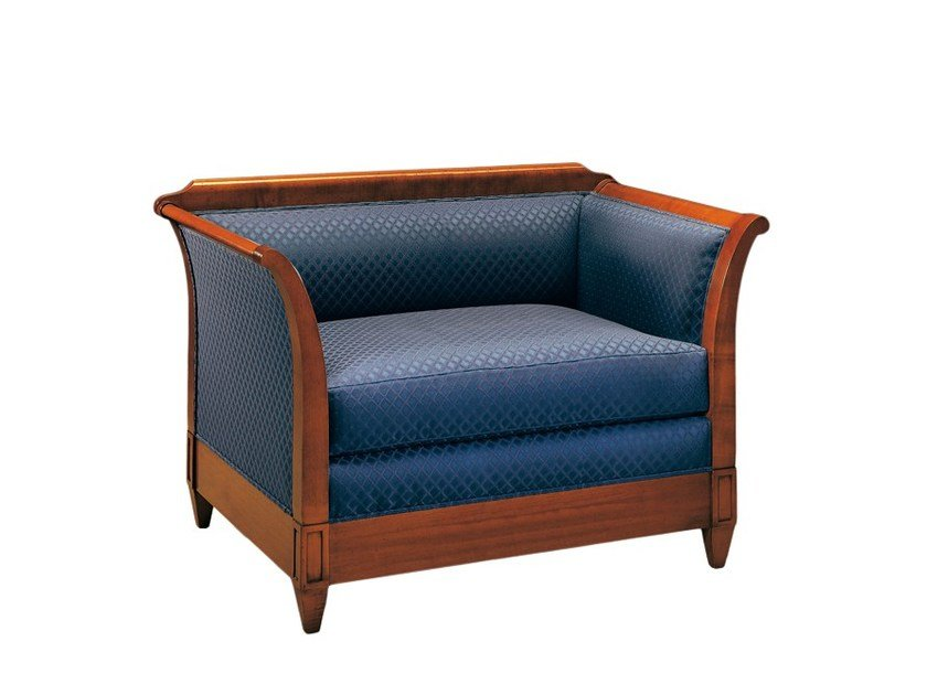 Upholstered armchair bed with armrests VERONA   Armchair bed - Morelato