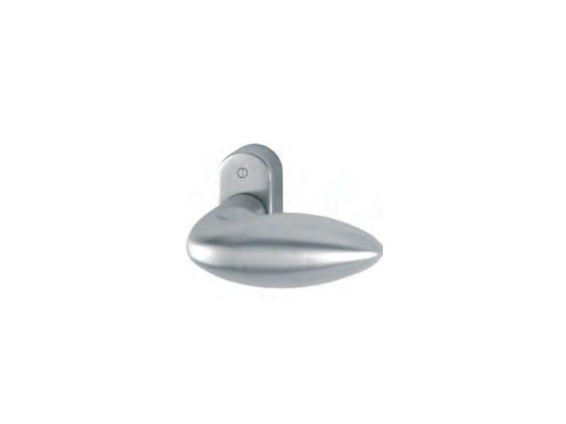 Aluminium window handle / door knob VERONA C/R YALE - FOSSATI PVC