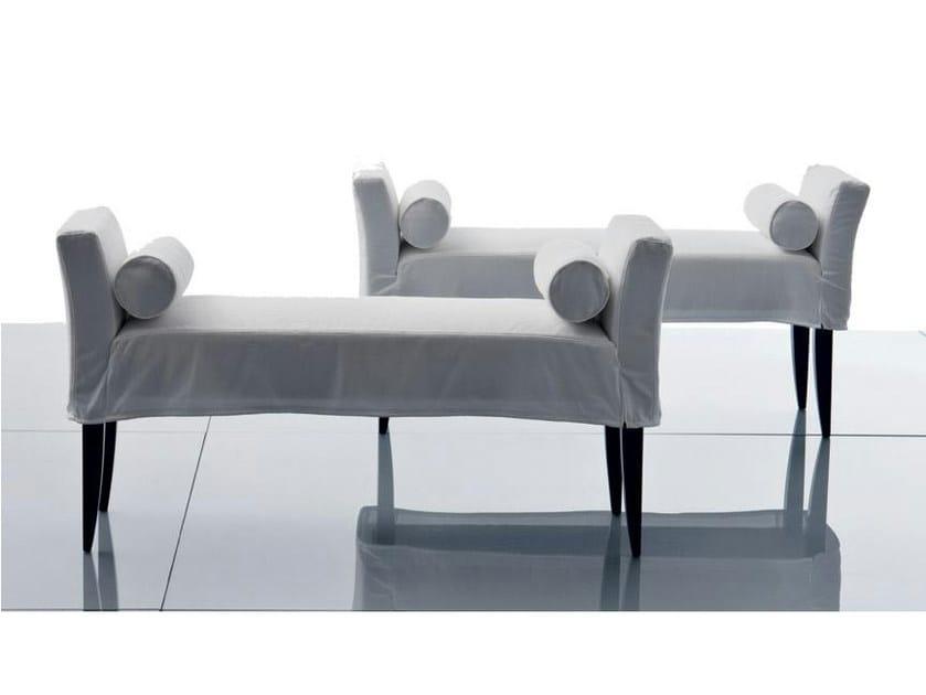 Upholstered fabric bench VERSAILLES | Bench - Marac