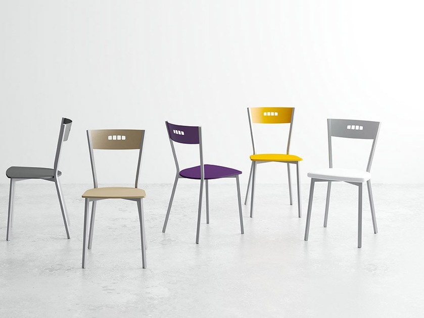 Lacquered laminate chair VERSUS   Chair by CANCIO