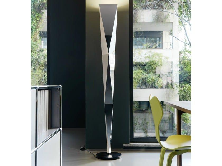 Swivel floor lamp with dimmer VERTIGO | Floor lamp - FontanaArte