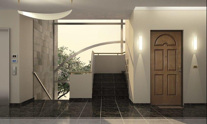 Porta d 39 ingresso blindata per esterno vetere arcadia - Porta ingresso blindata ...