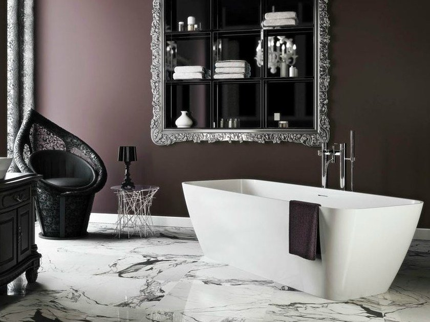 Freestanding rectangular bathtub VICENZA by Polo