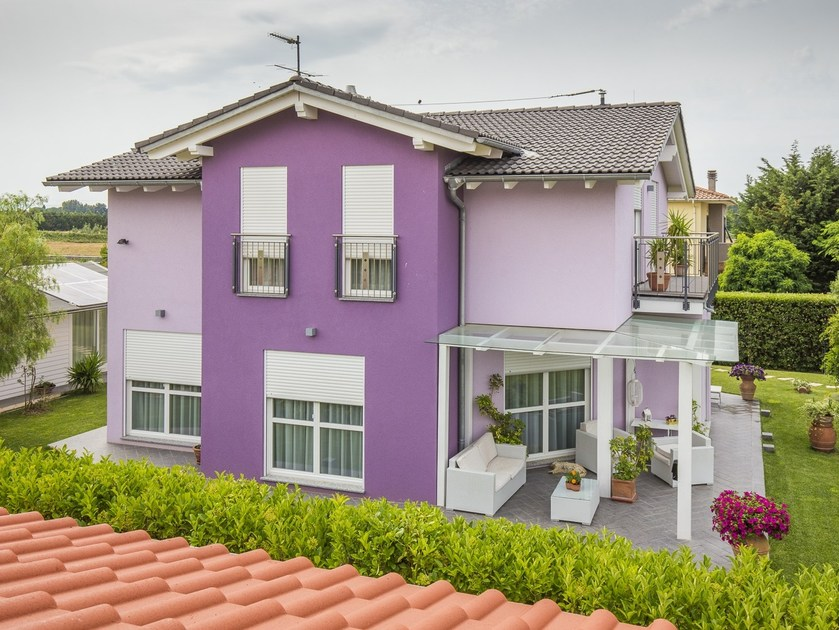 Wooden house VICENZA - Spazio Positivo by Rensch-Haus
