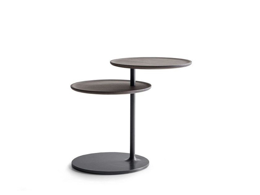 Round metal coffee table for living room VICINO | Coffee table - MOLTENI & C.