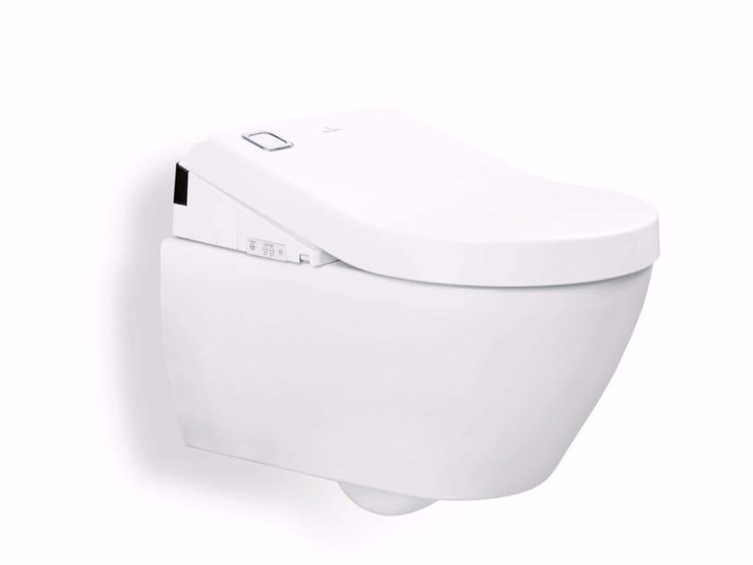 Wall-hung toilet with bidet VICLEAN U+ - Villeroy & Boch