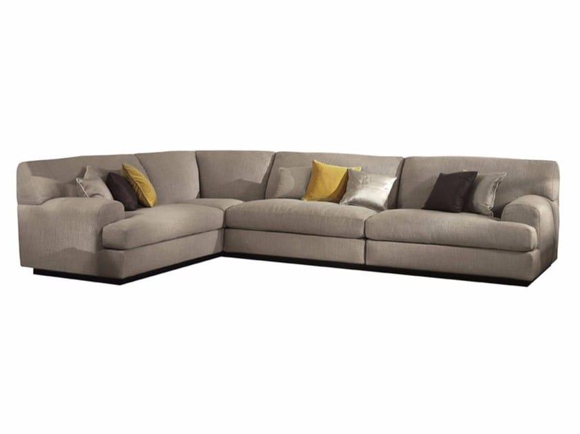 Corner fabric sofa VICO ANGOLARE - SOFTHOUSE