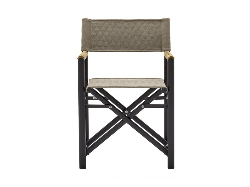 Teak garden chair with armrests VICTOR | Chair with armrests by Varaschin