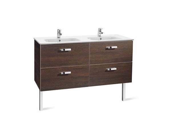 Double vanity unit with drawers VICTORIA BASIC | Double vanity unit - ROCA SANITARIO