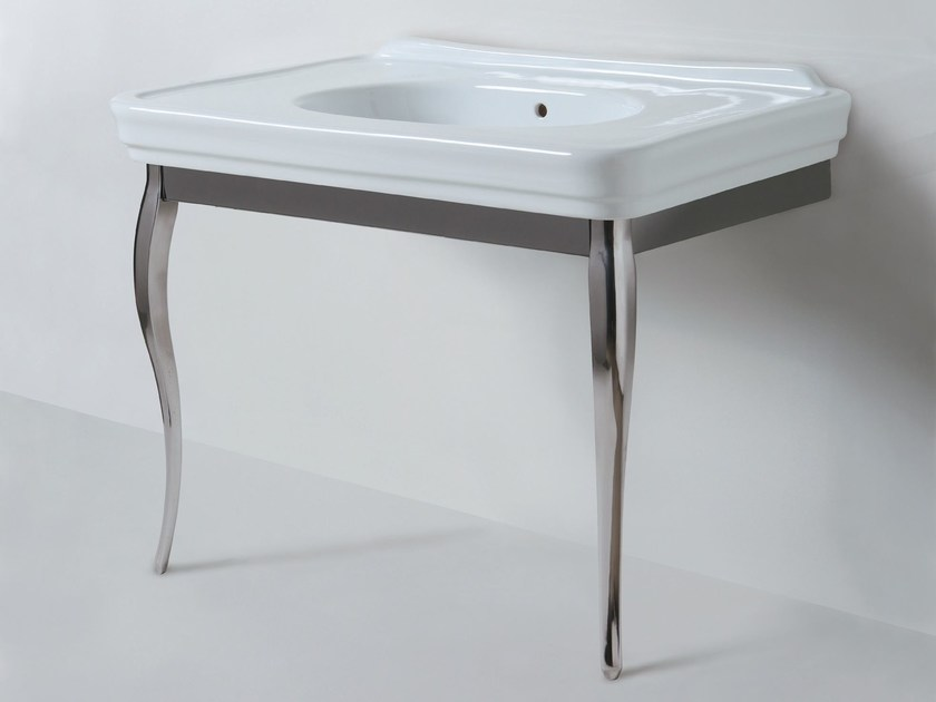 Console ceramic washbasin VICTORIAN STYLE | Console washbasin by AZZURRA sanitari