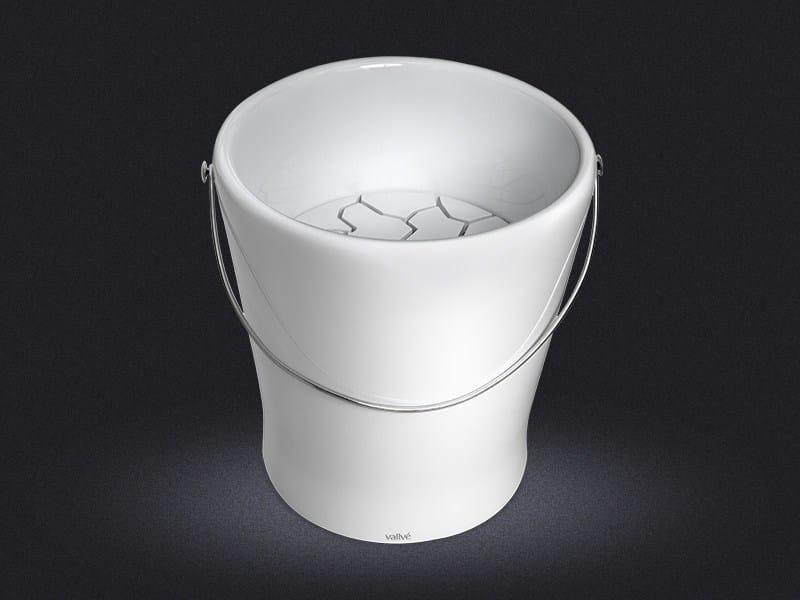 Countertop round resin washbasin VIDAS SECAS - Vallvé Bathroom Boutique