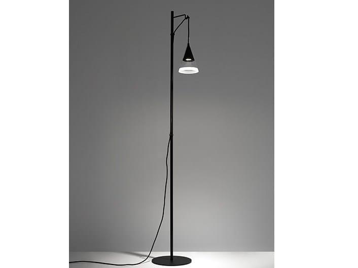 LED Borosilicate glass floor lamp VIGO | Floor lamp - Artemide Italia