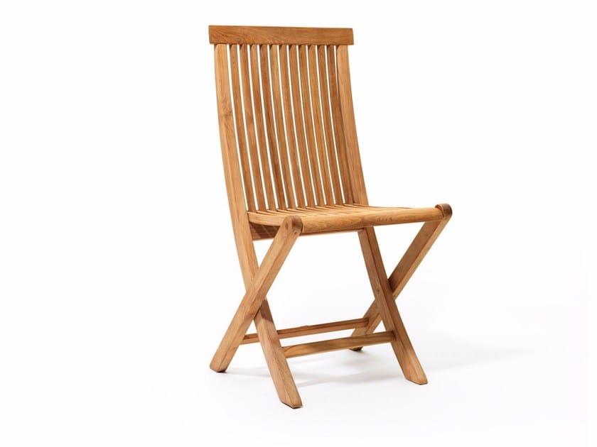 Teak garden chair VIKEN   Garden chair - Skargaarden