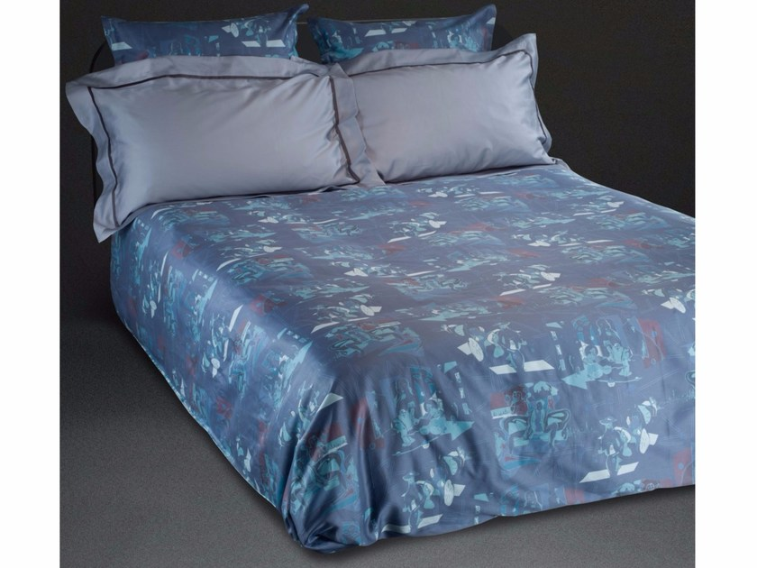Cotton bedding set VILLE D'AMOUR KING SET - sans tabù