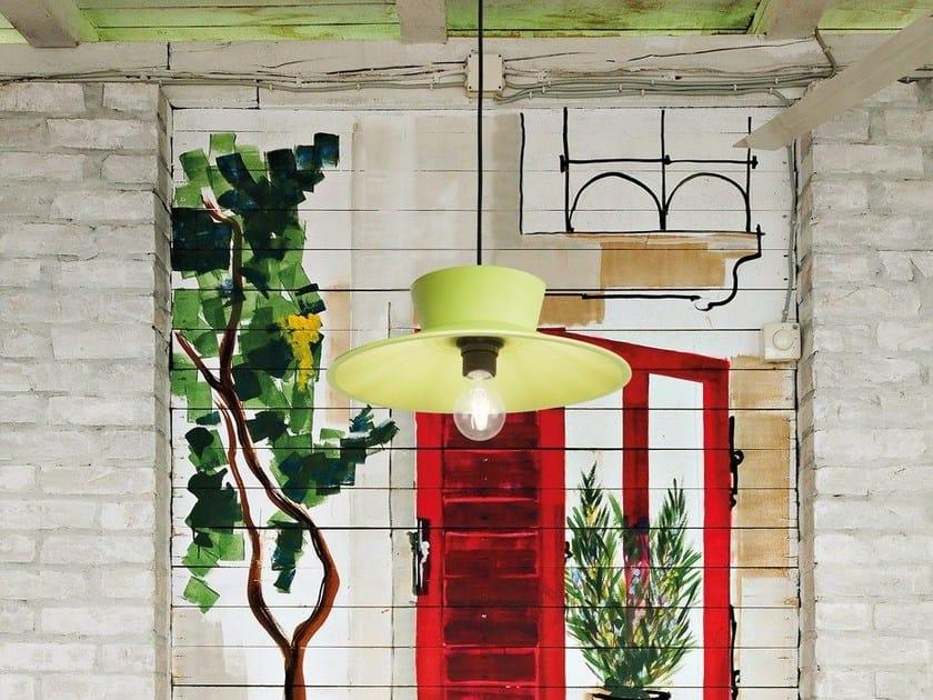 Rubber pendant lamp VINTAGE 48 SOFT by Lombardo