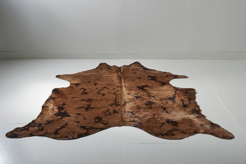 Vintage Cowhide Dark Sand by EBRU