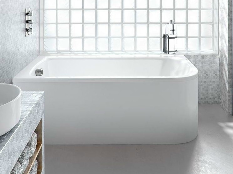 Rectangular built-in bathtub VIRIDE - Polo