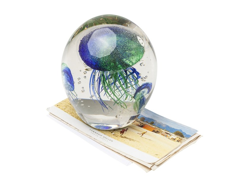 Paperweight VISIBLE JELLYFISH RAINBOW - KARE-DESIGN