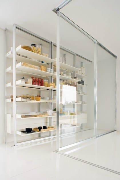 Glass sliding door VISTA - ALBED by Delmonte
