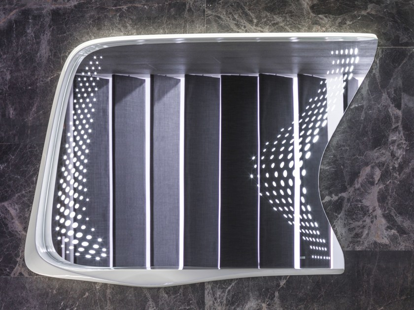 Wall-mounted bathroom mirror VITAE | Bathroom mirror - NOKEN DESIGN