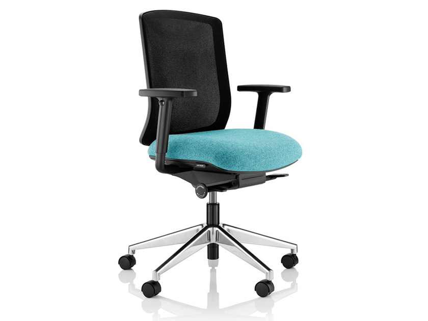 Height-adjustable task chair with 5-Spoke base VITE | Task chair by Boss Design