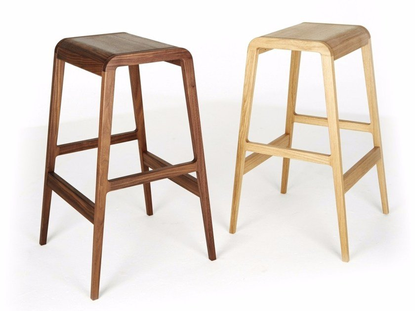 Wooden barstool VITO - Dare Studio
