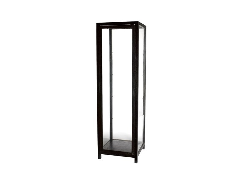 Lacquered wood and glass display cabinet VITRINE AROUND - Pols Potten