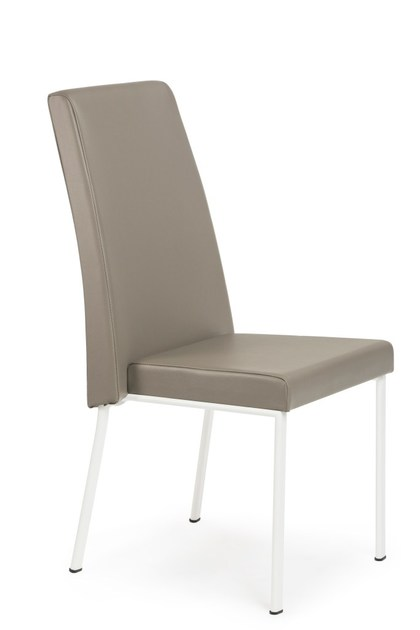 Upholstered imitation leather chair VITTORIA by Mara