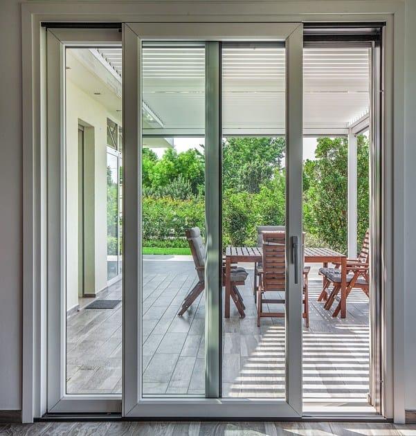 Finestra ad anta ribalta in alluminio e legno con triplo vetro vivaldi termoscudo italserramenti - Finestra anta ribalta ...