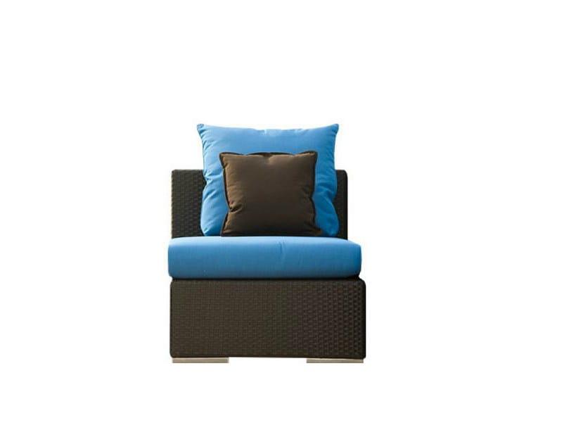 Upholstered garden armchair VOGUE | Garden armchair - Atmosphera